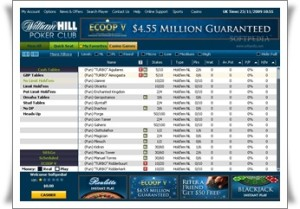 William Hill Home Page